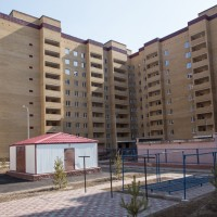 Энергоэффективный многоэтажный жилой дом в г.Караганда