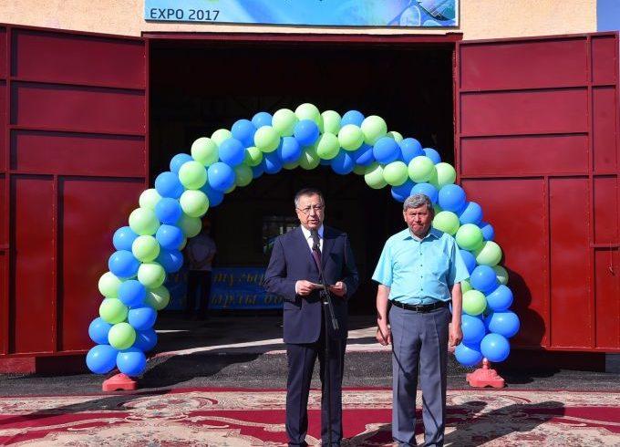 Новая ГЭС запущена в Южно-Казахстанской области