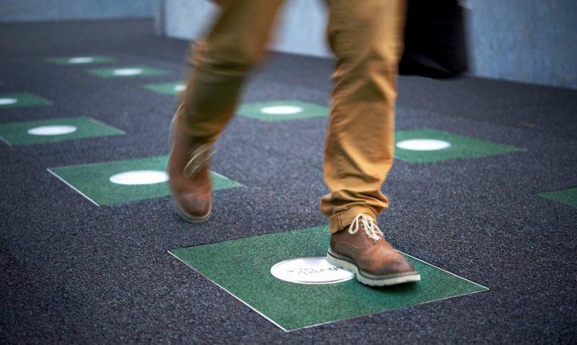 Энергогенерирующая пешеходная улица Pavegen заработала в Лондоне