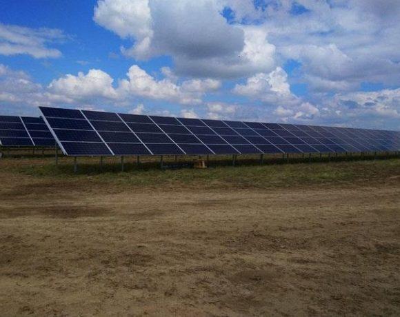 В Карагандинской области запустили третью солнечную электростанцию